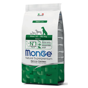 Monge Dog Adult Maxi Pollo 3 kg