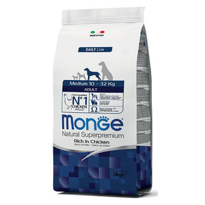 Monge Dog Adult Medium Pollo 3 kg