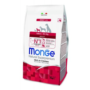 Monge Dog Adult Mini Pollo 3 kg
