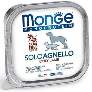 Monge Dog Monoproteico Solo Agnello 150 Gr.
