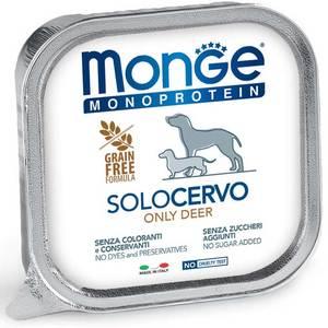 Monge Dog Monoproteico Solo Cervo 150 Gr.