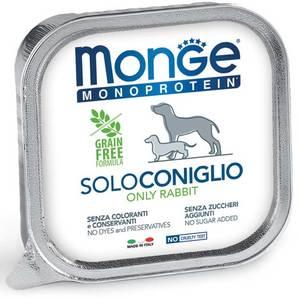 Monge Dog Monoproteico Solo Coniglio 150 Gr.
