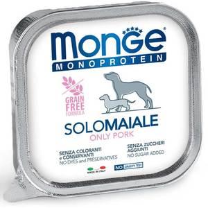 Monge Dog Monoproteico Solo Maiale 150 Gr.