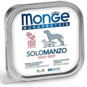 Monge Dog Monoproteico Solo Manzo 150 Gr.