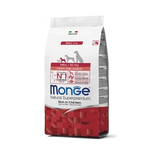 Monge Dog Puppy & Junior Mini Pollo 3 kg
