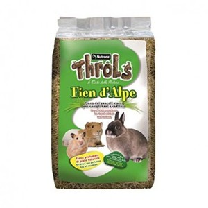 Raggio di Sole Throls Fien d'alpe fieno per conigli e roditori da 1 kg