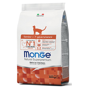 Monge Gatto Natural Superpremium Senior Pollo 400 gr