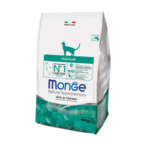 Monge Gatto Natural Superpremium Hairball 400 gr