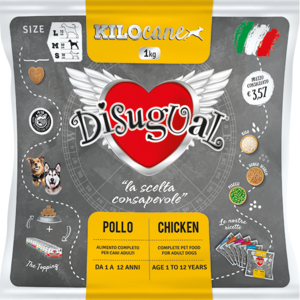 "Disugual POLLO Medium KG 1 - ADULT DOG ""KILOCANE"""