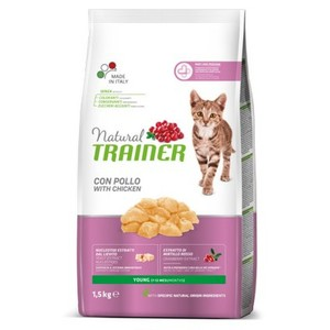 Trainer Gatto Natural Young Cat Pollo 1.5 Kg