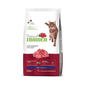 Trainer Gatto Natural Adult Manzo 1.5 Kg