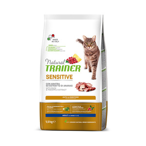 Trainer Gatto Natural Sensitive Anatra 1,5 kg