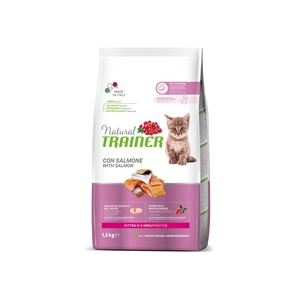 Trainer Gatto Natural Kitten Salmone 1,5 Kg