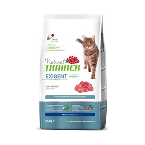 Trainer Gatto Natural Exigent Manzo 1,5 kg