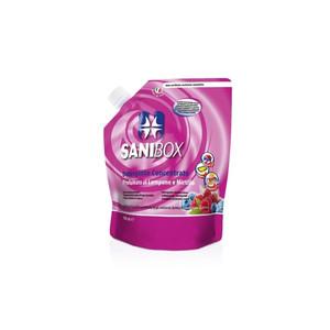Sanibox Detergente Igienizzante Concentrato al profumo di Lampone e Mirtillo 1 l