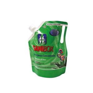 Sanibox Detergente Igienizzante Concentrato al profumo di Aloe 1 l