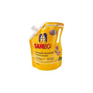 Sanibox Detergente Igienizzante Concentrato al profumo di Limone 1 l