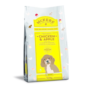 Mc Kerk Puppy Medium Pollo e Mela 12 Kg
