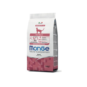 Monge Natural Sterilised Monoprotein manzo 1,5 Kg
