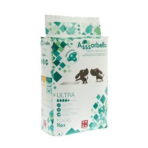 Ferribiella Assorbello Tappetino Igienico Ultra con Clorexidina 60X90 da 15PZ