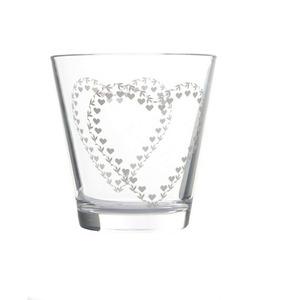 Set 6 Bicchieri Acqua  Nadia Decoro Cuore