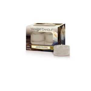YANKEE CANDLE Tea Light COCONUT RICE CREAM