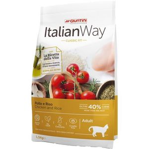 ITALIAN WAY POLLO E RISO MINI ADULT 1,5KG