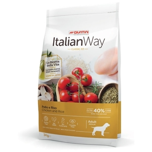 ITALIAN WAY POLLO E RISO MINI ADULT 8KG