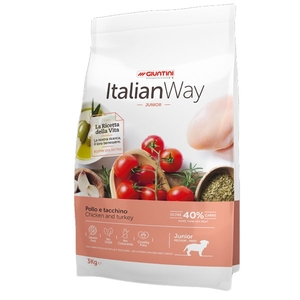 ITALIAN WAY JUNIOR POLLO E TACCHINO KG3