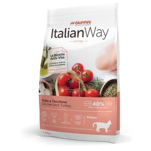 ITALIAN WAY KITTEN POLLO E TACCHINO
