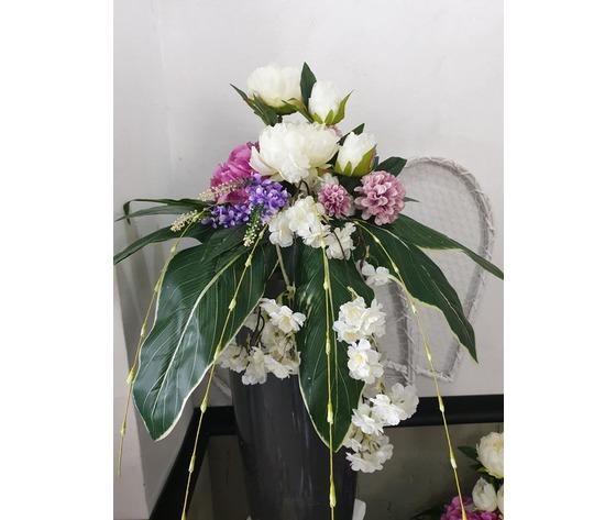 Composizione comp fiori art vaso 1
