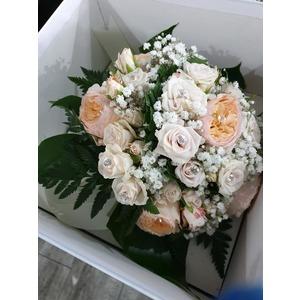 Bouquet da sposa con scatola