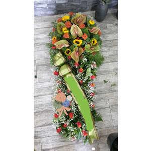 Copribara di fiori misti