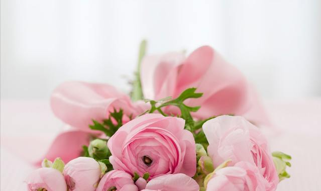 Bouquet of pink roses 68570