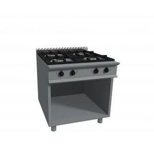 Cucina a gas a quattro fornelli su vano 800x900X850H