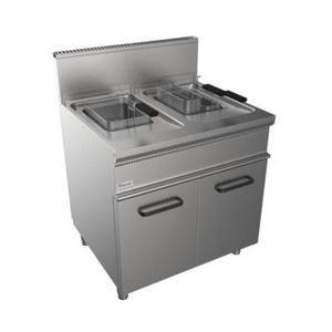 Friggitrice a gas- Due vasche 13+13 Litri- 800x700
