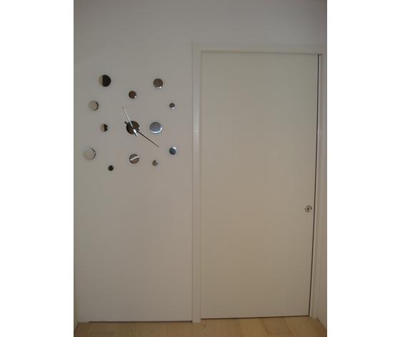 Porta scorrevole esterno muro a dua ante