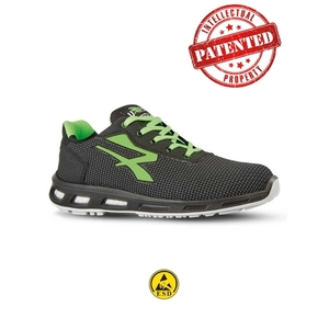 U POWER Strong S3 SRC - Scarpe Antinfortunistiche Unisex Adulto, Verde