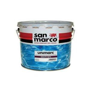 UNIMARC SMALTO SETA BIANCO 1 LT