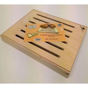 B&M New Tagliere raccogli briciole in legno di betulla dim. cm 35x27