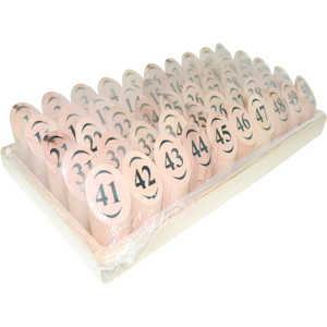 B&M Segna tavolo numerato con numerazione da 1/50