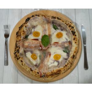 B&M  Tagliere in Legno di faggio da Portata per Pizza Dim. Ø 33