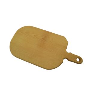 B&M Tagliere per pinsa romana in legno di faggio massello cm 48x24 con impugnatura