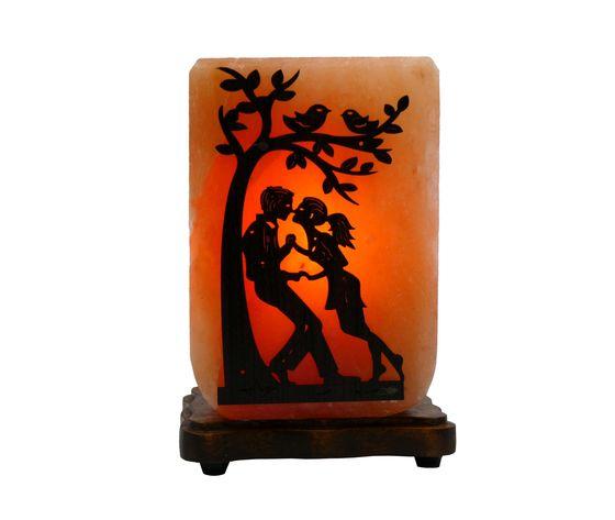 Lampada di sale innamorati albero llt 1 naturset