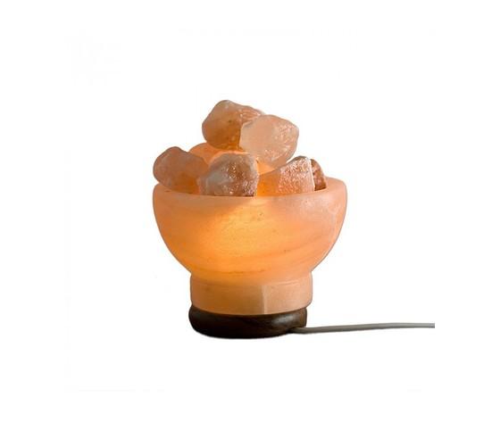 Lampada di sale rosa dell himalaya forma braciere