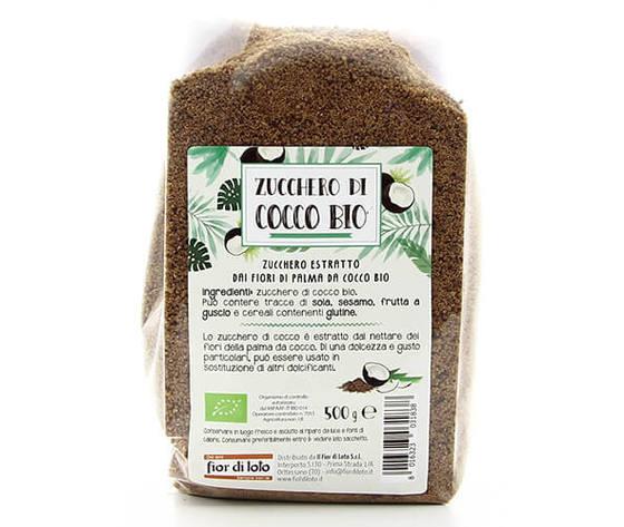 Zucchero di cocco bio fior di loto