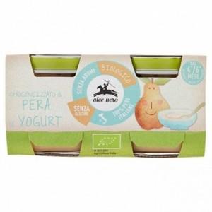 Alce Nero Omogeneizzato Pera e Yogurt