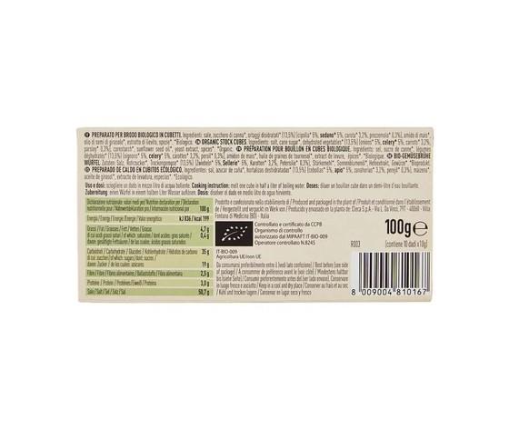 Alce nero brodo vegetale dadi 10 x 10 g %282%29