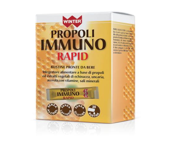 Propoli immuno rapid winter 20bustine 550x669