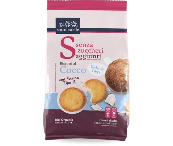 Senza zuccheri biscotti con farina tipo2 al cocco 624 237